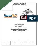 EZD - Procedimiento de Trabajo Instalación y Armado Econobodega - Revisado x GMLC