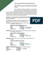 Ampliación de Fecha de Inscripción de Jfen 2019