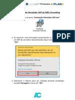 Tutoria de Instalação Simulador MDL - Data