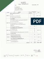 Class-XI Mathematics Model 2019 Set-3
