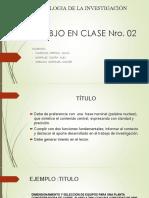TRABJO EN CLASE Nro 2.pptx