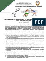 BASES de CAMPEONATO Interinstitucional.