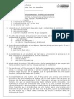 Lista 3- Probabilidade e Distribuicao Binomial