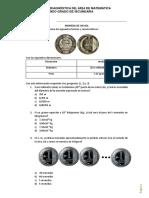 Evaluación diagnóstica MATEMÁTICA - 2°