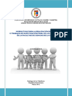 Normativas de Investigación FCS Marzo 2012 Con Anexo 6 Hecho