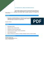 Estrategias de Optimización y Mejora Del Mantenimiento