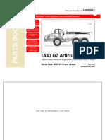 Parts Book TEREX