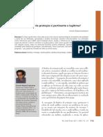Bioetica de Proteçao Legitima