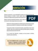 cartilla elecciones 2019