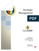 Strategic Management Paper