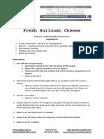 Halloumi Cheese Recipe