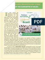 Celebrating The Barnabite Missionary Presence in Brazil