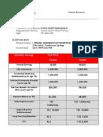Sample Summary Proposal