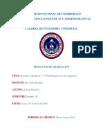 RESUMEN CAPITULOS 6,7Y8 Metodologia de La Investigacion