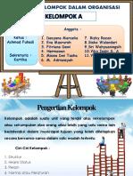 PPT Keorganisasian Kelompok A