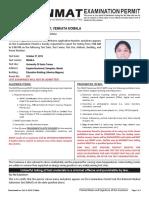 Nmat Examination Permit-1101904059