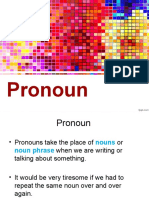 Pronoun Slides
