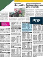 Los resultados generales de ayer en el Hipódromo de Palermo