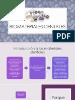 Biomateriales Dentales Clase