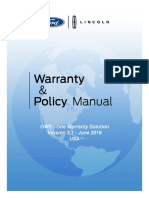 2019 Ford Warranty and Policy Manual