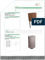 MOBILIARIO URBANO CRISELA Catálogo y Ficha Técnica de Mobiliario Urbano Bancos - PDF