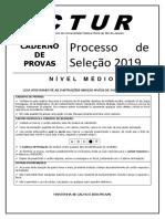 Prova Nivel Medio Concurso 2018 2019