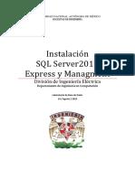InstalaciónSQLServer2012