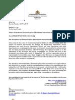 KARNATAKA GOVT CIRCULAR ON CARE TO BE TAKEN IN ACCEPTING PHOTOSTAT COPIES RD 97 LGP 90