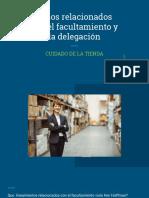 Casos relacionados con el facultamiento y la delegación