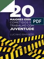 1549539375e-Book Os 20 Maiores Erros Cometidos No Trabalho Com Juventude