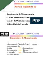 2 - Slides - Demanda Oferta e Equilíbrio de Mercado