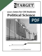 Pol Science Short Notes