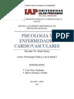 Psicologia y Enfermedades Cardiovasculares