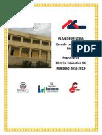 Plan de Mejora Escuela primaria Luis Ramirez Mora