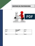 Seleccion, Evaluacion, Compras y Re Evaluacion de Proveedores
