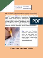 FPAS (Foundation Programme Application System) - Courses.emedica