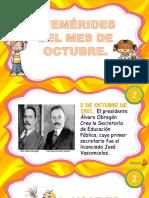 3. Efemerides de Octubre