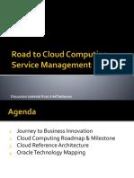 Road to Cloud Computing