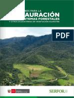 Orientaciones Para La Restauración de Ecosistemas Forestales