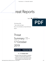 Threat Summary_ 11 – 17 October 2019 - Silobreaker