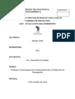 Ventajas y Desventajas de La Administración y Evaluación de Desempeño