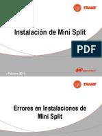Errores en inst minisplit.pdf