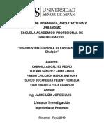 Informe Visita Tecnica a La Ladrillera Cruz de Chalpon