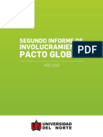 Segundo Informe Pacto Global 2016