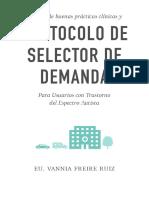 Manual de Buenas Prácticas Clínicas y Protocolo Selector de Demanda