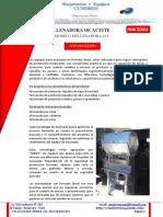 Ficha Tecnica - Llenadora de Aceite