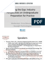 Closing the Gap- Industry Perspectives on Undergraduate Preparation for Practice,2017