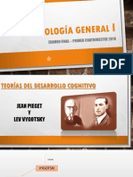 Psicologia General 1. Piaget y Vigotsky
