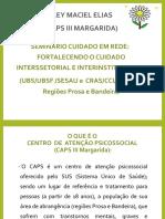 CUIDADO EM REDE - CAPS MARGARIDA.pptx