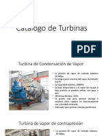 Catalogo de Turbina
